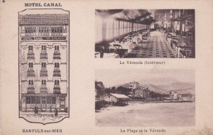 Hotel Canal Carte Postale